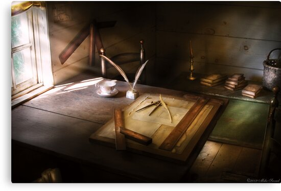 The drafting table by Mike  Savad