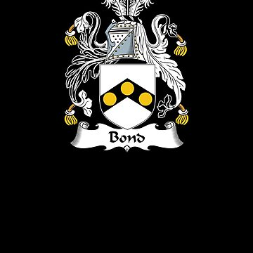 Bond Coat of Arms - Family Crest Shirt by FamilyCrest