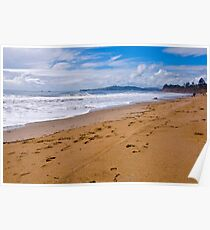 Butterfly Beach. Montecito, California Poster