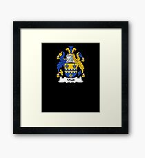 Wall Coat of Arms - Family Crest Shirt Framed Print