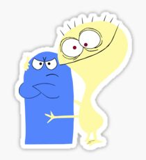 Bloo and Cheese Sticker