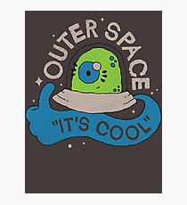 OUTER SPACE! Photographic Print