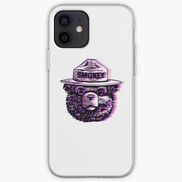 Psychedelic Smokey iPhone Soft Case