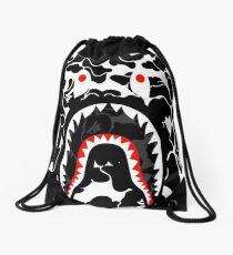 Camo Black Bape Drawstring Bag
