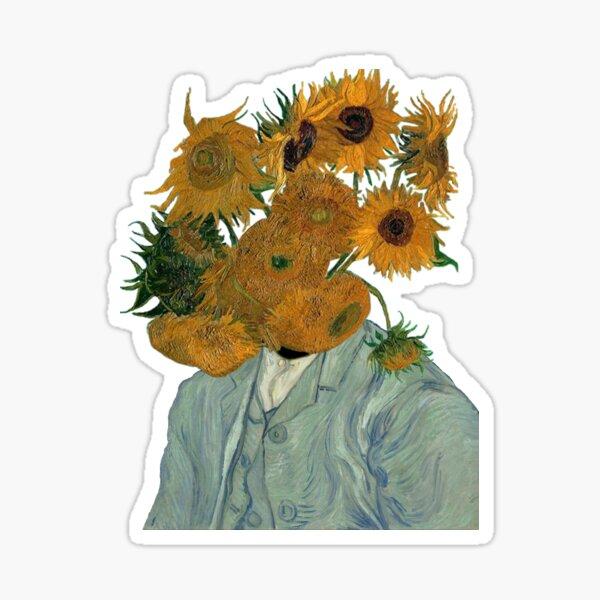 starrte auf Vincents Reiche Sticker