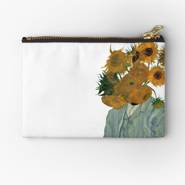 From the Artist, Beauty Grows Zipper Pouch
