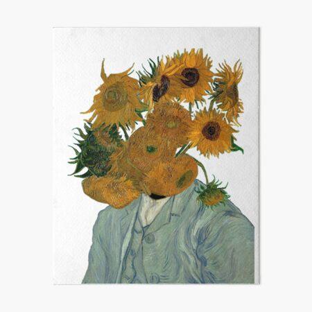 starrte auf Vincents Reiche Galeriedruck