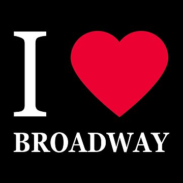 I love Broadway (2) by elisc