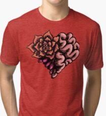Succulent Heart Tri-blend T-Shirt
