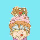 Cupcake on Top of My Head by Kho Tek Mei