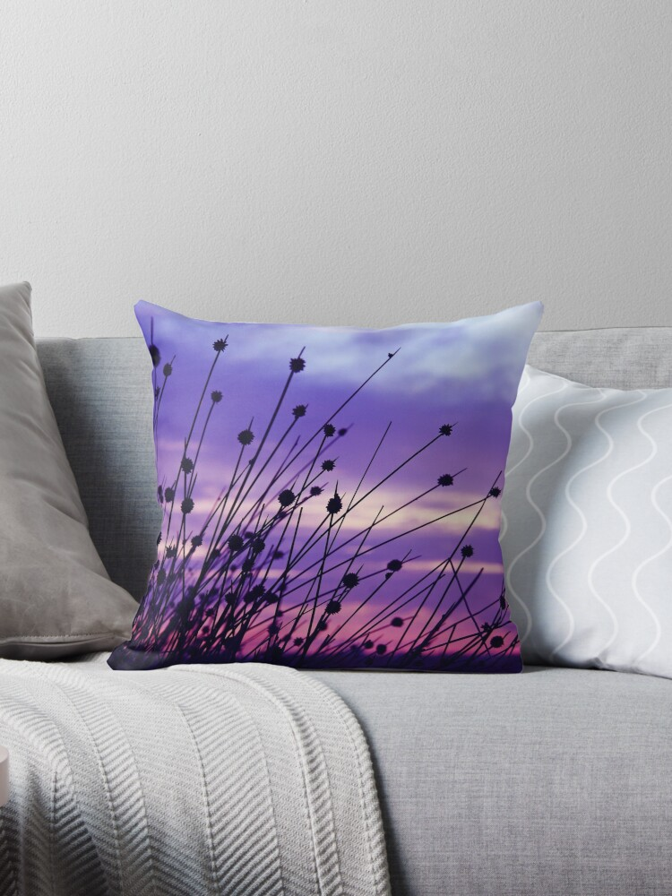 Beach Grasses at Sunset # 1 - Port Melbourne by Ruth Durose