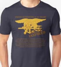 Navy SEAL Inspired with Creed Unisex T-Shirt