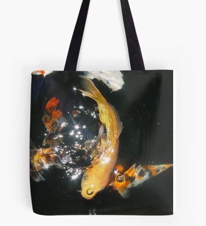 Koi Universe Tote Bag