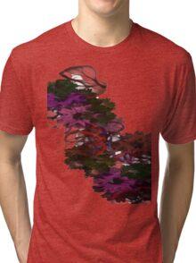 Soft Flowers Tri-blend T-Shirt