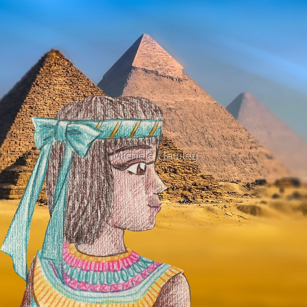Pharoah / Princess / Queen Hatshepsut from Ancient Egypt by Michele Hawley