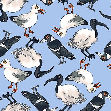 Everyone's Favourite Australian Birds by tarale