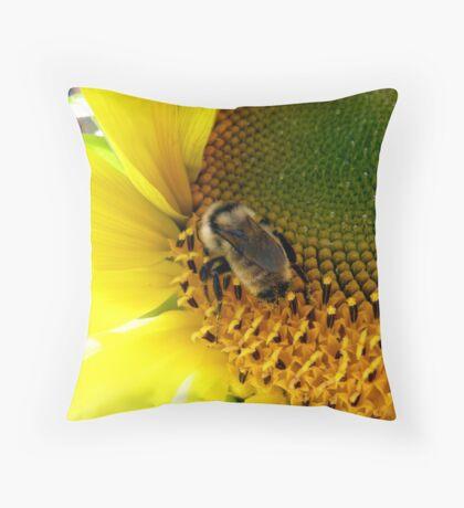Bee Heaven Throw Pillow