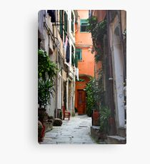 The Chair - Vernazza, Cinque Terre, Italy Metal Print