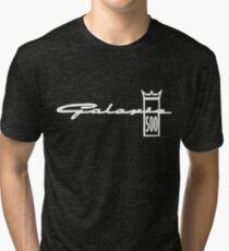 Galaxie 500 Crown Logo Classic Car Ford Vintage Car T-Shirts Tri-blend T-Shirt
