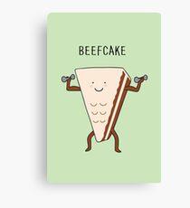 beefcake Canvas Print