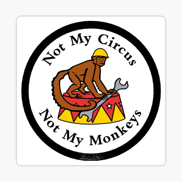 G10 FUNNY GREASE MY MONKEY STICKER RARE Decal