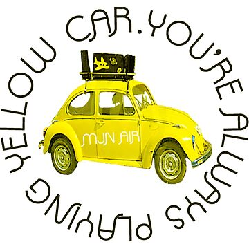 Yellow Car by zipperchan