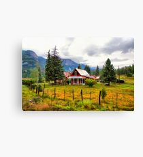Life On The Mountain Canvas Print