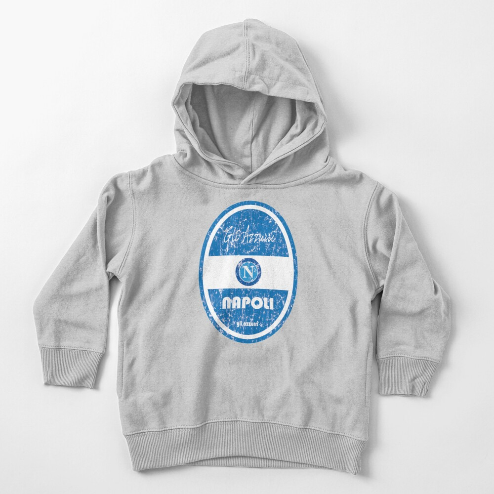 Serie A - Napoli (Distressed) Toddler Pullover Hoodie