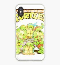 Retro Ninja Turtles iPhone-Hülle & Cover