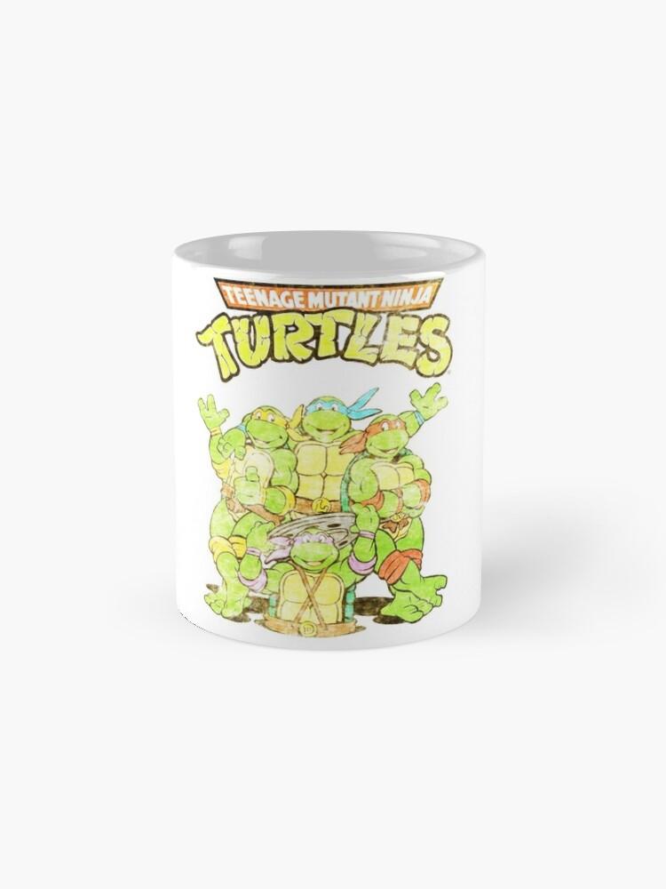 Alternate view of Retro Ninja Turtles Mug