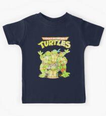 Retro Ninja Turtles Kids Tee