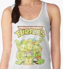 Retro Ninja Turtles Women's Tank Top