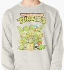 Retro Ninja Turtles Pullover