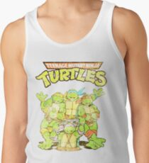 Retro Ninja Turtles Tank Top