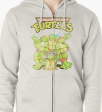 Retro Ninja Turtles Kapuzenjacke