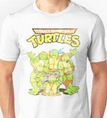 Camiseta ajustada Tortugas Ninja Retro