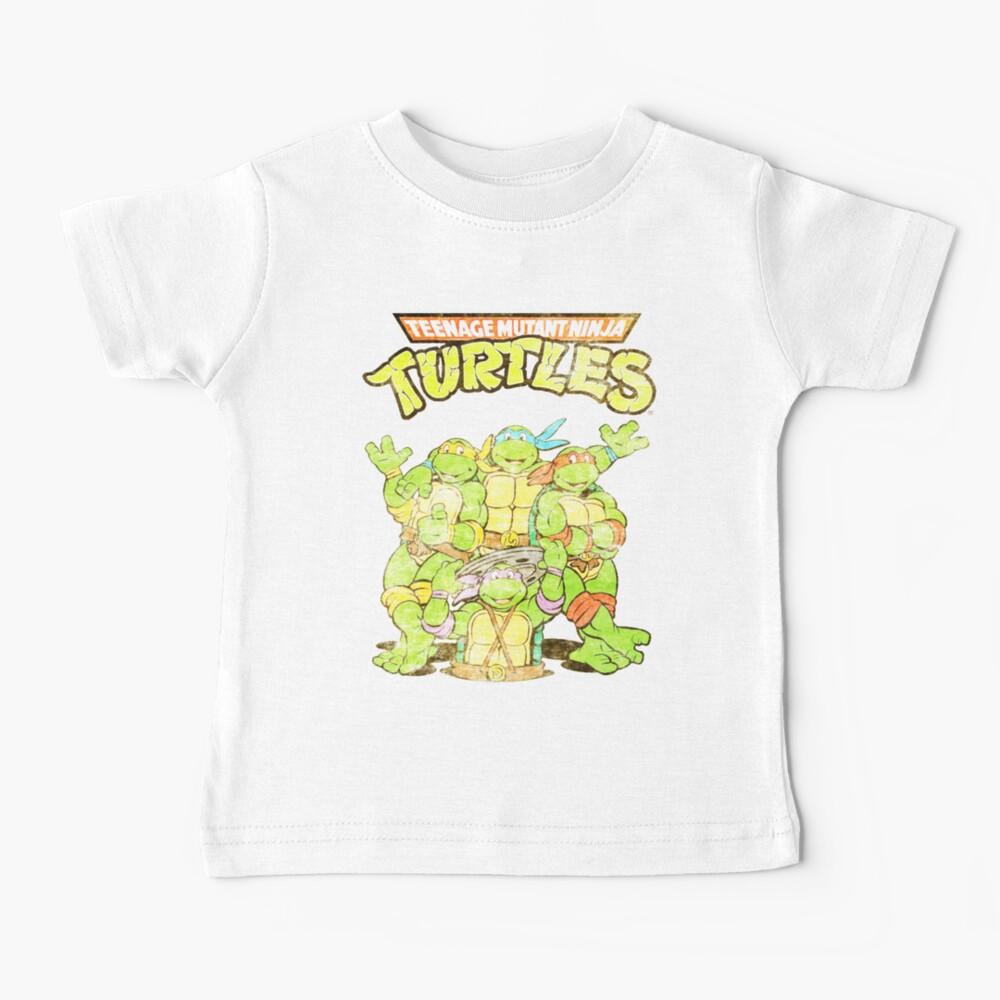 Retro Ninja Turtles Baby T-Shirt