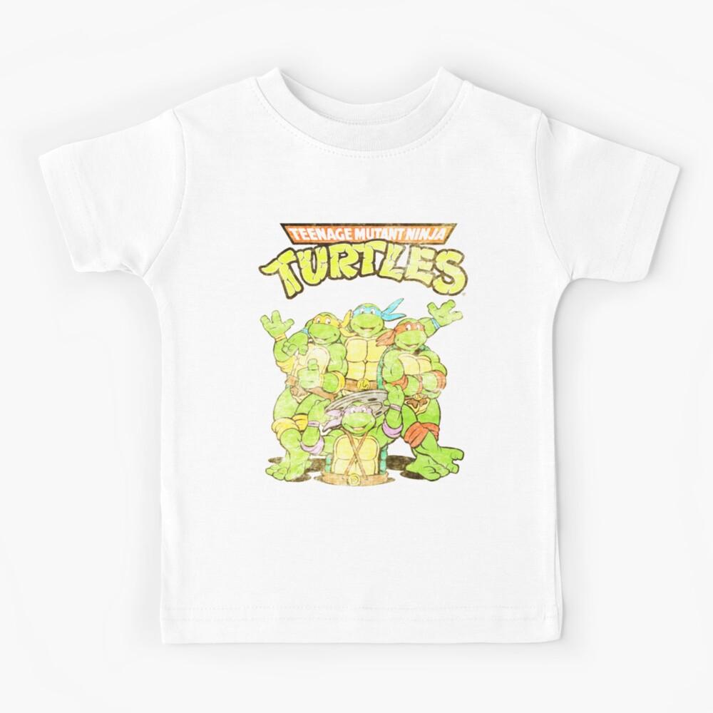 Retro Ninja Turtles Kids T-Shirt