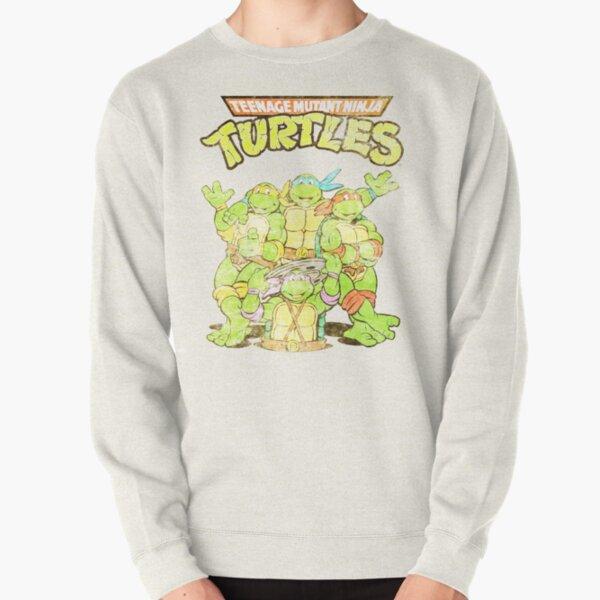 Retro Ninja Turtles Pullover Sweatshirt