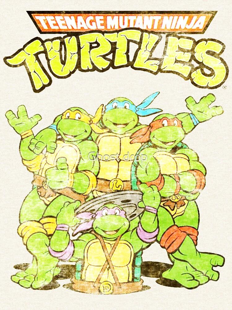Retro Ninja Turtles by chrisstokes