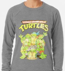 Retro Ninja Turtles Leichtes Sweatshirt
