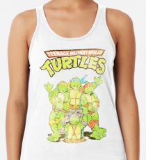 e3e7d6c49d0dcc Retro Ninja Turtles Women s Tank Top