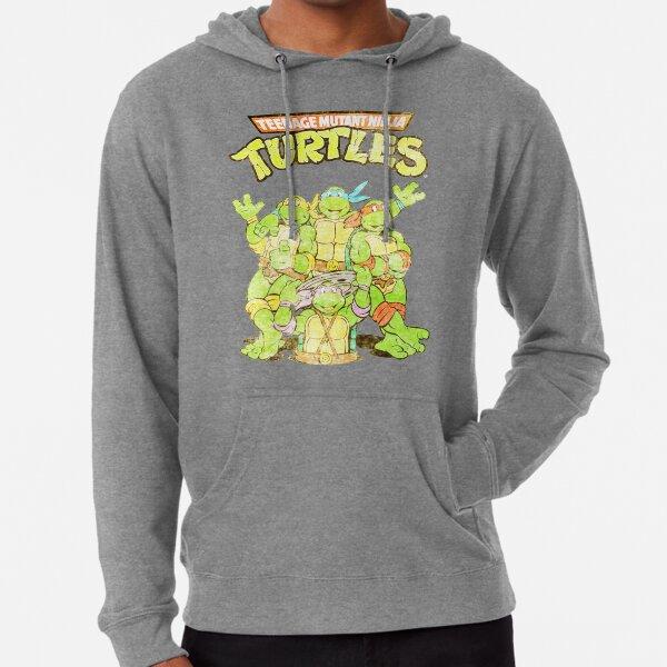 Retro Ninja Turtles Leichter Hoodie