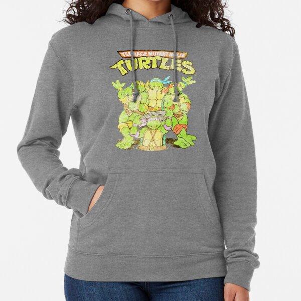 Retro Ninja Turtles Lightweight Hoodie