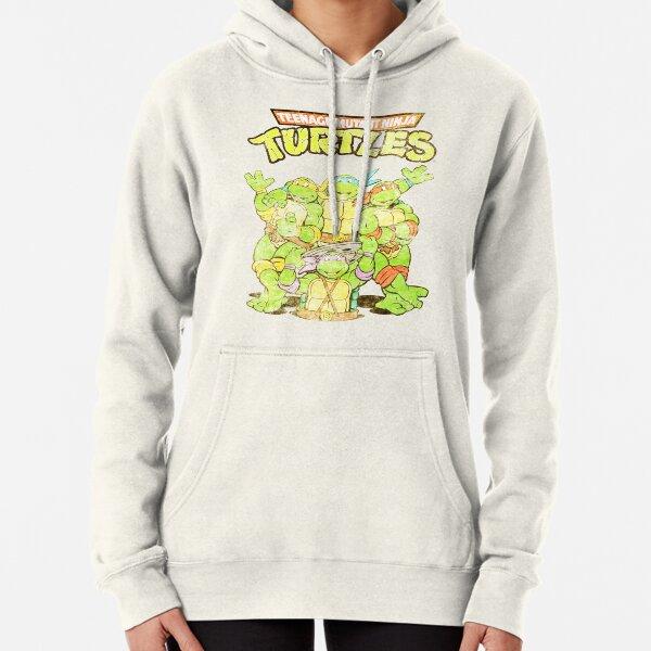 Retro Ninja Turtles Pullover Hoodie