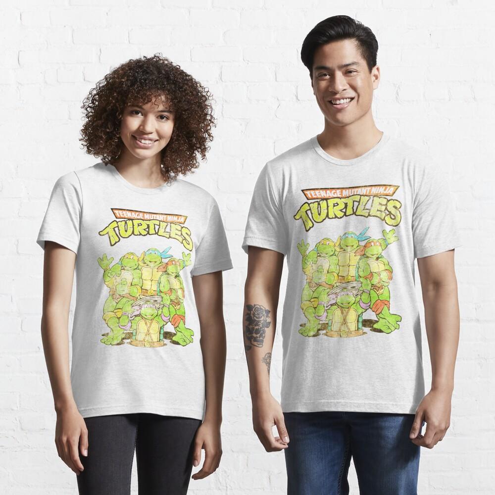 Retro Ninja Turtles Essential T-Shirt
