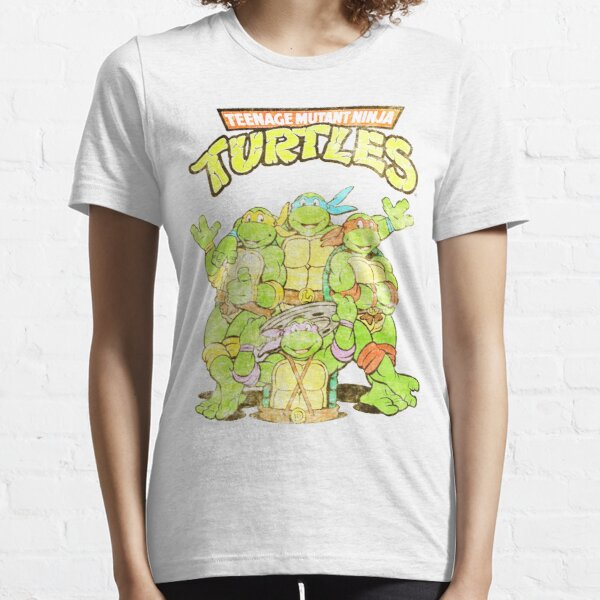 Retro Ninja Turtles Essential T-Shirt