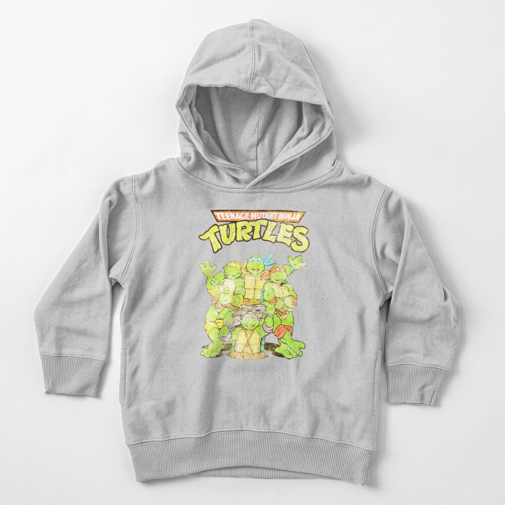 Retro Ninja Turtles Toddler Pullover Hoodie