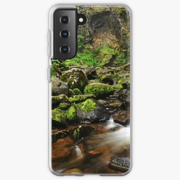 Hopetoun Falls in the early morning light Samsung Galaxy Soft Case