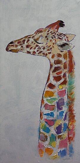 Giraffe by Michael Creese